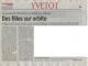 Article Le Courrier Cauchois d'avril 2010