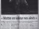 Article le journal de Lillebonne de décembre 2012