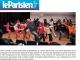 Article Leparisien.fr de mai 2012