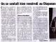 Article Le Dauphiné Libéré du 7 avril 2014